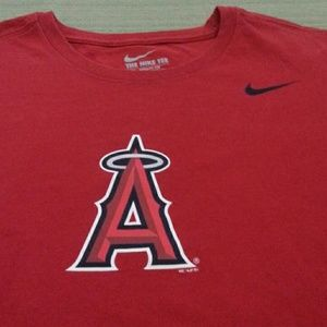 MLB ANGELS BASEBALL TEAM TOP EXCELLENT CONDITION